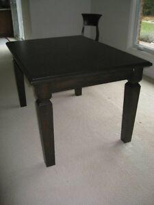 Custom Maple Kitchen Table