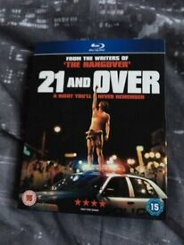 21 and over bluray DVD