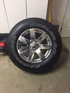 5- 2016 Jeep wangler factor takeoff rims and tires