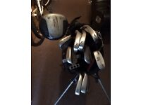 Quality Wilson bag and clubs