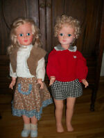 Life size walking dolls