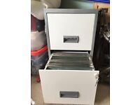 2 Drawer A4 Filing Cabinet