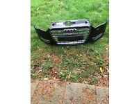 Audi A3 front bumper Audi Q7 front grille Audi A7 front grille