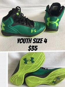 Under Armour Youth size 4