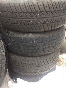 2003 ford focus steel rims with tires