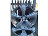 """Kahn 22"""" alloys BMW X5"""