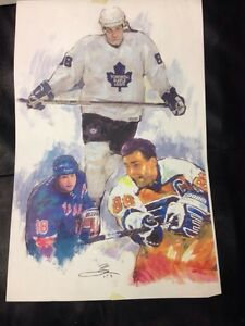 Hockey artwork Strathcona County Edmonton Area image 2