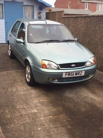 Ford Fiesta , low mileage with service history in good condition in and out.