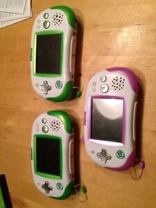 3 leapster explorer and 1 leapster tag pen plus 12 games Windsor Region Ontario image 1