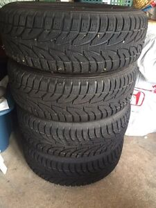 17 ich winter tires brand new with mags!