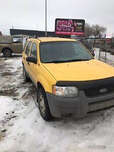 2001 Ford Escape 321497 KM