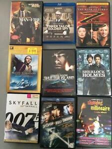 DVD et Blue-ray collection 150++ films (2 de 2)