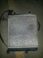Radiator & Fan assembly Hyundai Accent 2000-2006