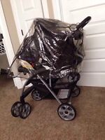 Jolly Jumper weather shield / cover stroller