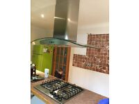 Gas hob and cooker hood
