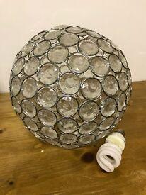 Next Glass Ball Light Fitting