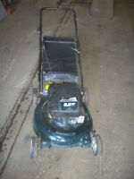 5.5 HP PUSH LAWNMOWER WITH BAG!FRESH TUNE UP