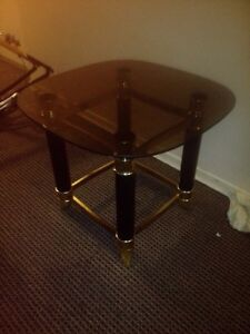 Tinted glass table 10 bucks