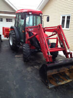 Brand New 2014 TYM T603 Tractor with Snowblower and Salter