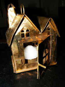 Brass Candle Light Cabin