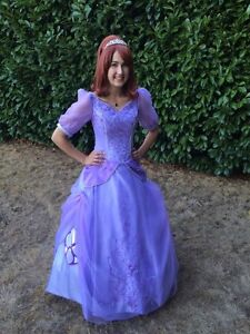 Princess Sofia the First Cosplay Costume