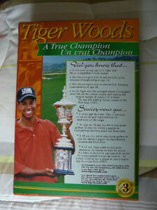 Wheaties collectible Tiger Woods cereal boxes West Island Greater Montréal image 2