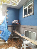 walkers parging and stucco repair