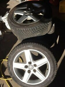 Set of 4 winter tires Audi