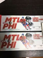 Pair Desjardins Oct 24 Canadiens vs Philadelphia