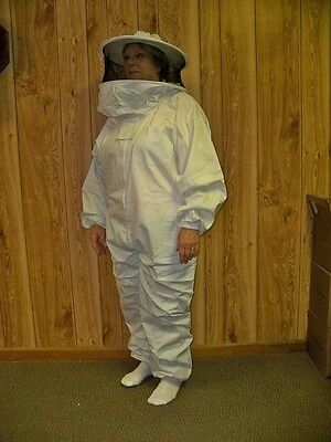 Youth  Bee Keeper Suit with Round Hood - Bee Keeping Suit  (ZYSR-XS)