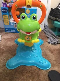 Jumping frog ride on