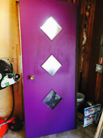 "36""x84"" Solid Wood Exterior Door"
