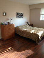 2 bedroom fully furnished apartment near VIU is for rent