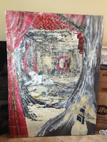 Peinture (toile) Tableau