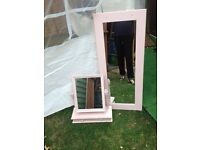 Set of two mirror s