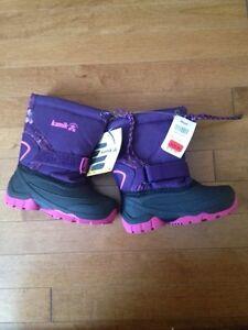 Kamik Purple & Pink Winter Boots Girls 9