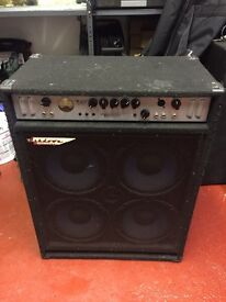 "Ashdown MAG 250 bass amp combo 4 x 10"" driver cab"