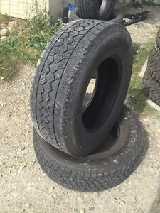 275/70/17 toyo winter truck tires