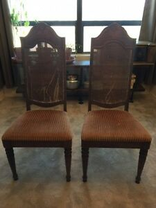 Matching chairs $30 - DIY project