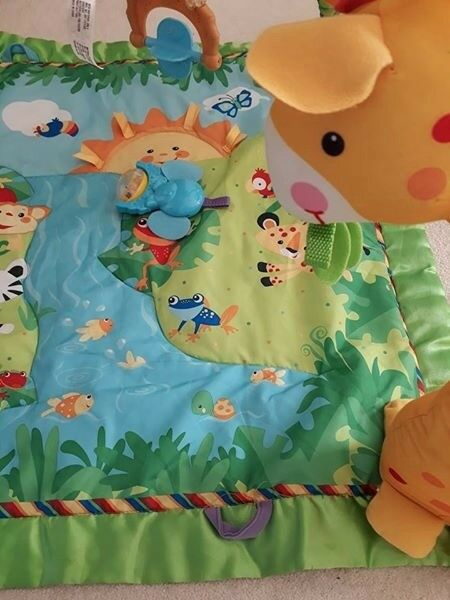 Fisher Price Jungle baby activity mat / play gym.