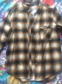 Checkered shirt- urban outfitters