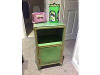 Vintage Shabby Chic Bedside Cabinet