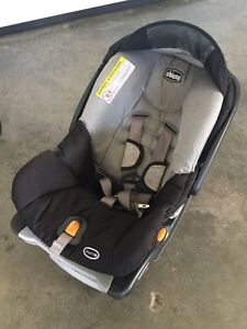 Infant car seats, bases and lightweight stroller.