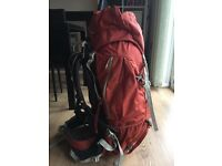 Hiking backpack - Lowe alpine 65-85 litres