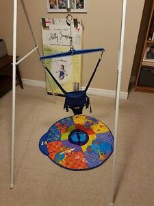Jolly Jumper with Metal Stand and Musical Mat