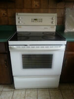 Refrigerator, stove and microwave