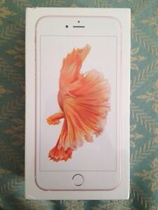 iPhone 6s Plus Rose Gold 64GB New Sealed Rogers