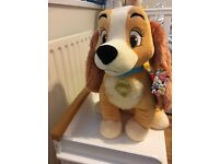 Lady from Disney Lady and the Tramp Large Toy