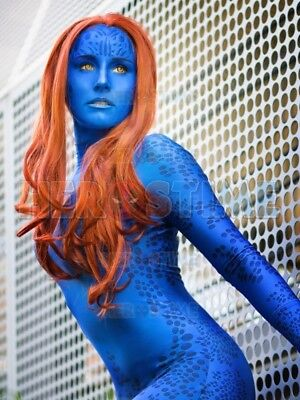 Mystique X Men Costume (X-men Film Mystique Costume 3D Print Cosplay Spandex Bodysuit For)