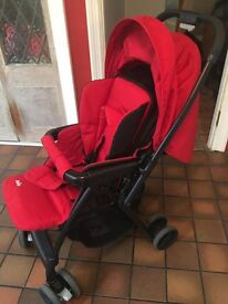 Joie Mirus Buggy and Joie Juva Car Seat Used Once Immaculate